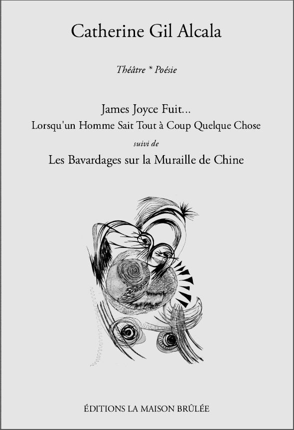 Couverture James Joyce fuit de Catherine Gil Alcala